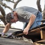 repairing a roof