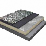 EPDM Rubber Roofing Ballasted