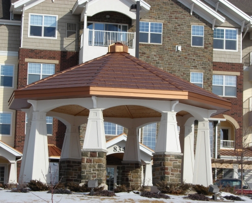 Arrowline Metal Shingle Roof