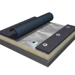 EPDM Rubber Roofing Mechanically Attached