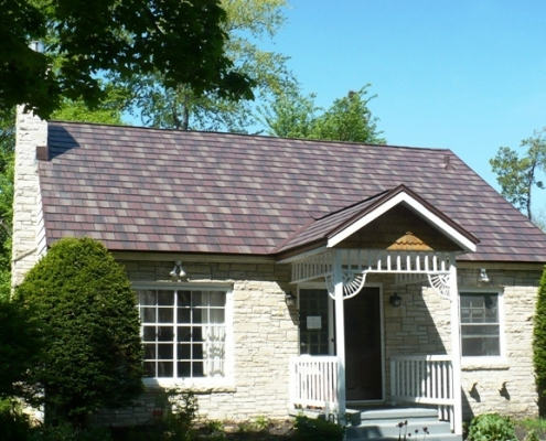 Metal Shingle Roof Madison WI