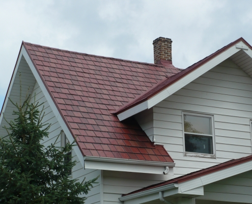 Metal Shingle Roof Mt Horeb