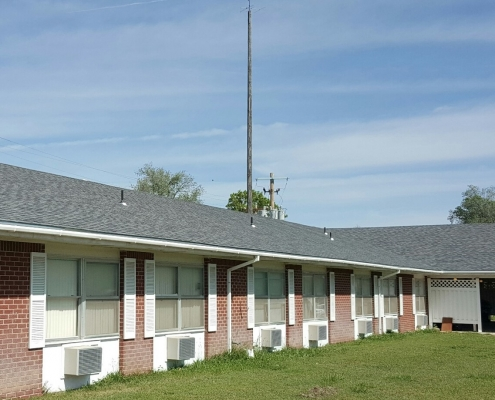 Nursing home re-roof Pratt,KS