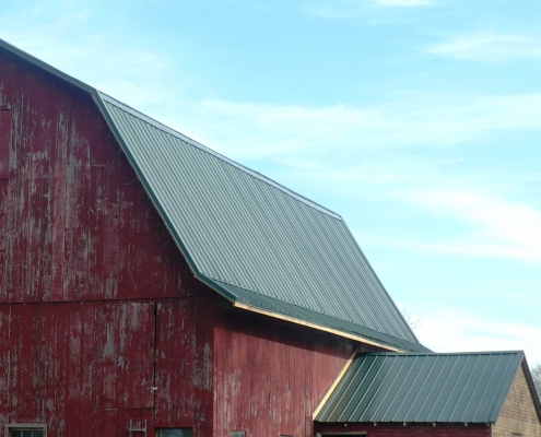 Standing Seam Barn Roof Oregon WI
