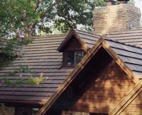 Steel Shake Roof