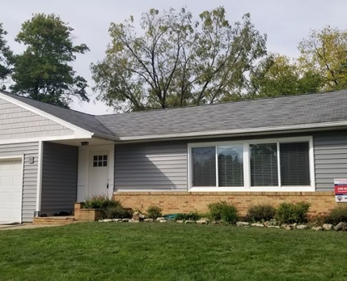 Vinyl Siding and Roof